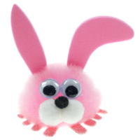 Custom Fluffy Rabbit Bug