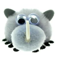 Printed Furry Rhino Bug