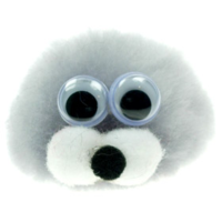 Personalised Fuzzy Seal Bug