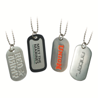 Enamelled Dog Tags