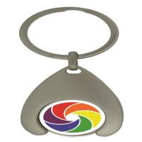 UK Wishbone Trolley Coin Keyrings