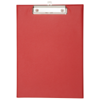 A4 Clipboard - Available in Red Black White or Blue