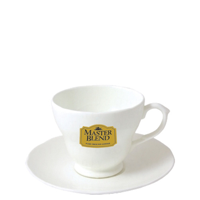 Amber Cup and Saucer 190ml
