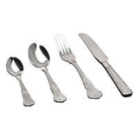 Dessert Fork Kings Pattern