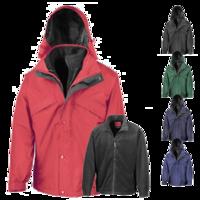 3-in-1 Waterproof Fleece Lined Jacket