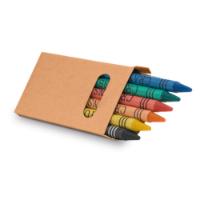 Box With 6 Crayon