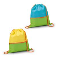 Drawstring Bag With Front Pocket