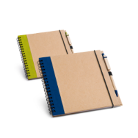 Cardboard Notepad With Recycled Plain Sheets