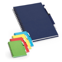 Notepad With Recycled lined Sheets And Ballpen