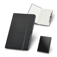 Plain Sheet Notepad With Metal Pen