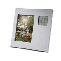 Photo Frame With Digital Desk Set