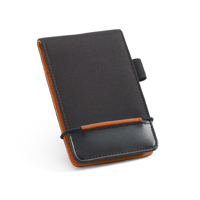 Imitation Leather And Nylon Notepad With Calculator