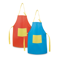 Apron For Children With Pocket
