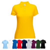 Lady Fit Poly Cotton Pique Polo Shirt