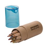 Pencil Crayon Tube