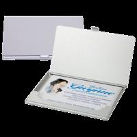 Aluminium Business Card Case (Silver)