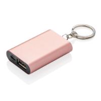 1.000 mAh keychain powerbank, rose gold