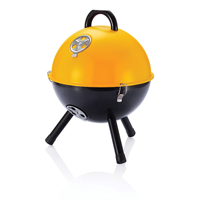12 inch barbecue, orange