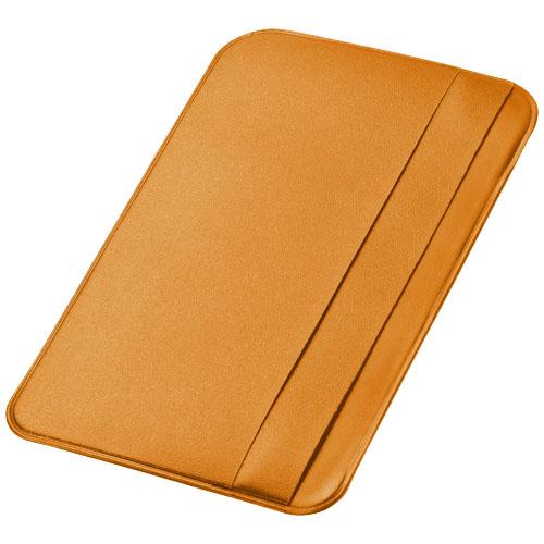 I.D. Please card holder in orange