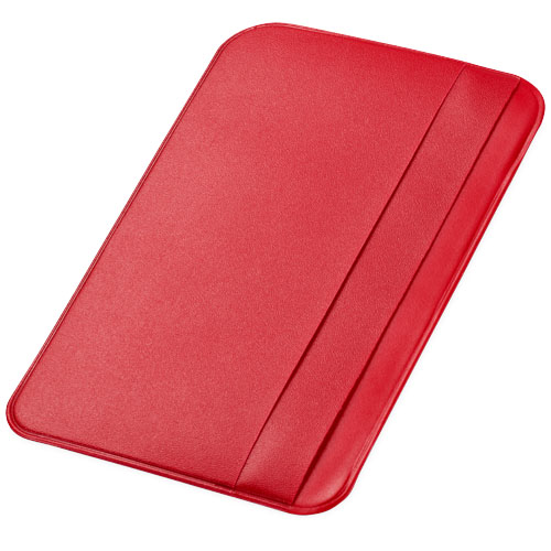 I.D. Please card holder in red
