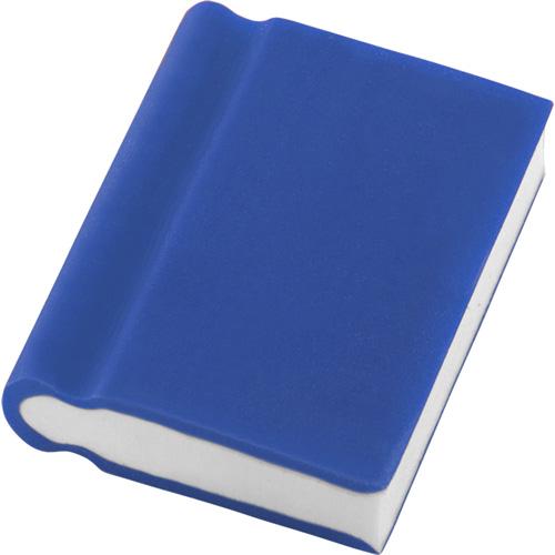 Book Shaped Eraser in blue