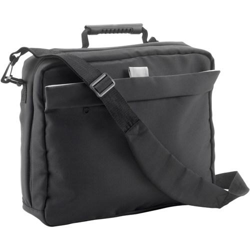 Document/laptop bag in blue