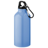 Oregon drinking bottle with carabiner in light-blue