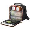 Bergen lunch cooler bag in black-solid