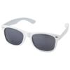 Crockett sunglasses in white-solid