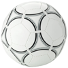 Victory size 5 football in white-solid-and-black-solid