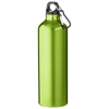 Pacific 770 ml sport bottle with carabiner in green