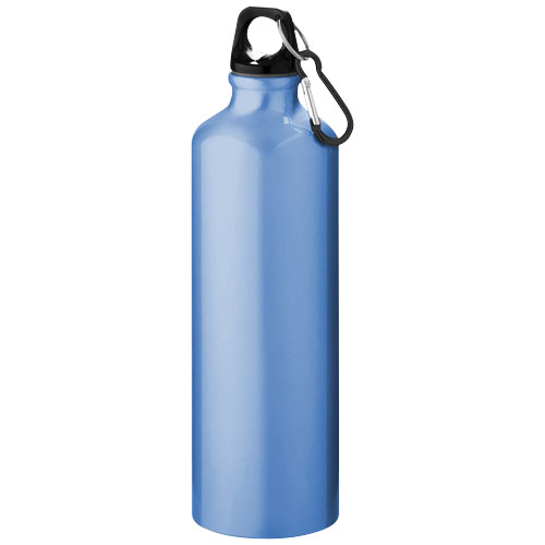 Pacific 770 ml sport bottle with carabiner in light-blue