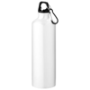Pacific 770 ml sport bottle with carabiner in white-solid