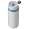 Flow 350 ml foam insulated tumbler in white-solid-and-blue
