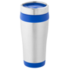 Elwood 410 ml insulated tumbler in silver-and-blue