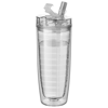 Sipper Insulated Tumbler in transparent-clear