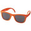 Sun Ray foldable sunglasses in orange