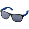 Retro duo-tone sunglasses in black-solid-and-blue