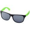 Retro duo-tone sunglasses in neon-green