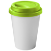 Zamzam 330 ml insulated tumbler in white-solid-and-lime-green