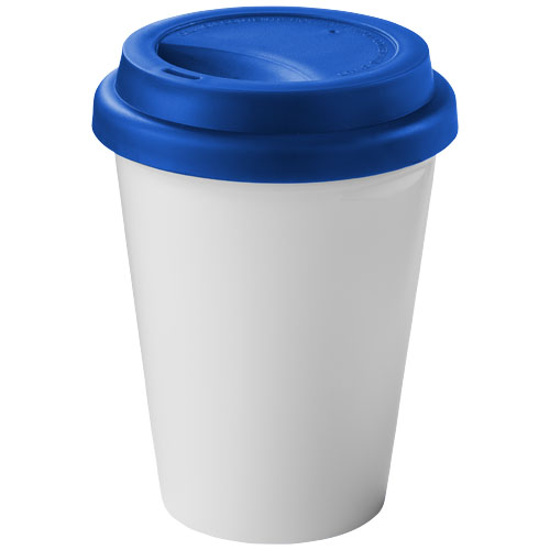 Zamzam 330 ml insulated tumbler in white-solid-and-royal-blue