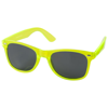 Sun Ray sunglasses with crystal frame in lime