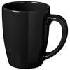 Medellin 350 ml ceramic mug in black-solid