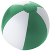 Palma solid beach ball in green-and-white-solid