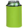 Crowdio insulated collapsible foam can holder in lime