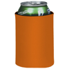 Crowdio insulated collapsible foam can holder in orange
