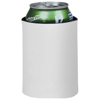 Crowdio insulated collapsible foam can holder in white-solid