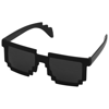 Pixel Sunglasses in black-shiny-and-black-solid