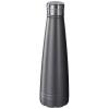 Duke 500 ml copper vacuum insulated sport bottle in grey