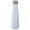 Duke 500 ml copper vacuum insulated sport bottle in white-solid